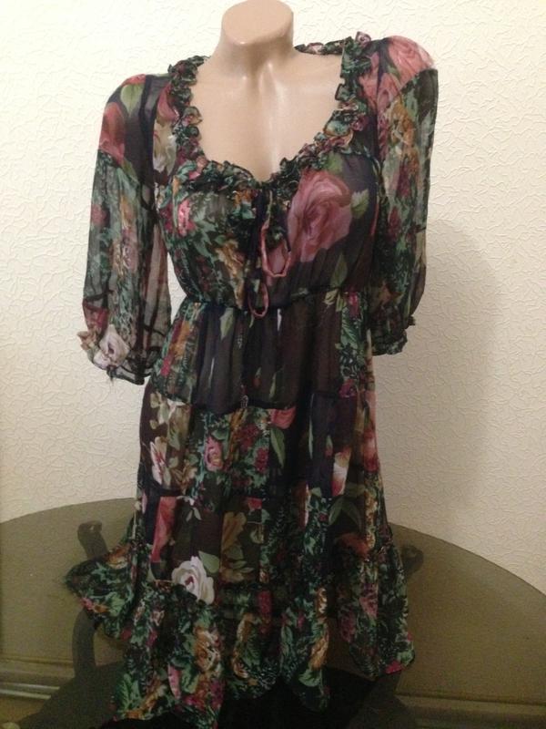 Платье шифон, цена - 450 грн, #12347160, купить по доступной цене   Украина - Шафа