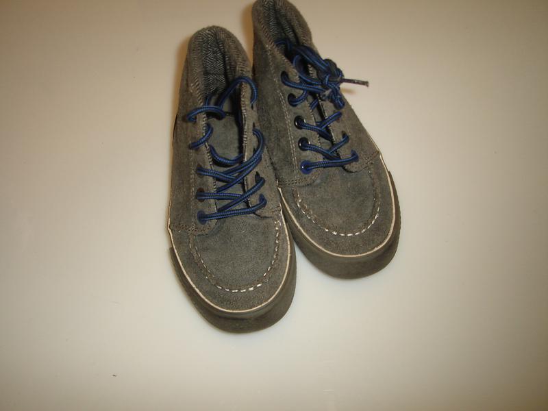 35b43ac53642 Next замшевые кеды, ботинки некст р 12 uk, евро 31, стелька 19,5 см ...