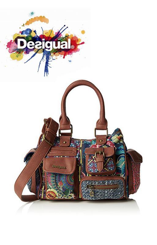3461bd7e0616 Vip стильная сумка на плечо – дом моды desigual – испания - новая1 фото ...