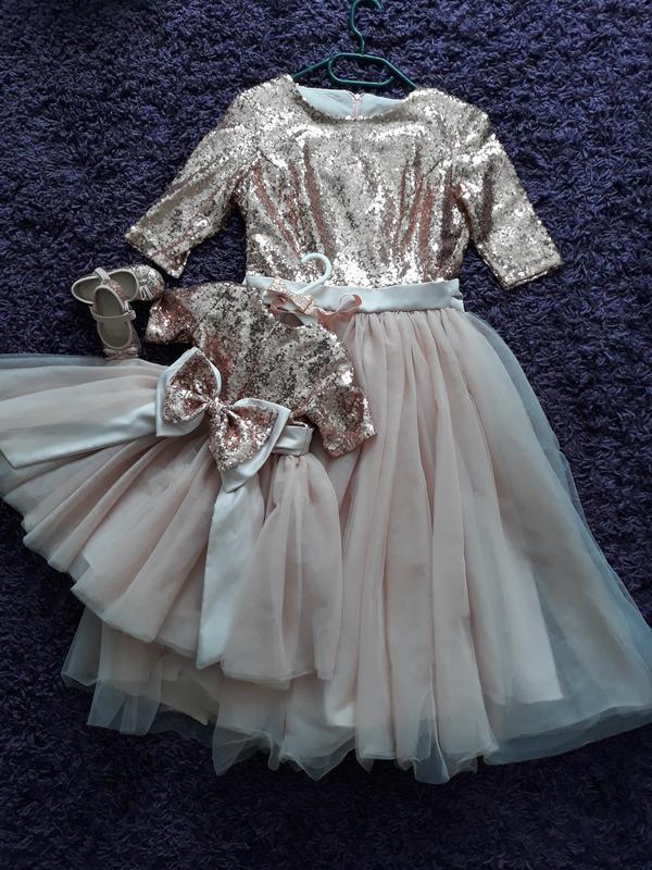 6cb43dcc6af Плаття для дівчинки на рочок, family look. Ручная Работа, цена ...