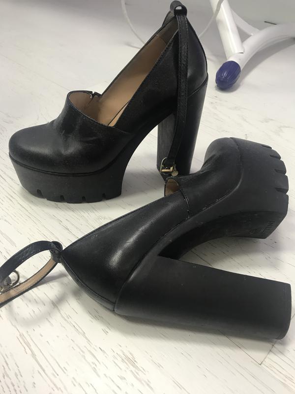 Туфли на тракторной подошве, цена - 250 грн,  12453638, купить по ... f5114e8fbc1