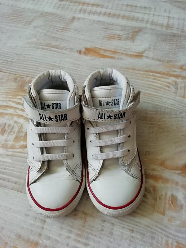 be4e1c7cc9be Высокие кеды конверсы, хайтопы . кожа!оригинал!   16,5 см Converse ...