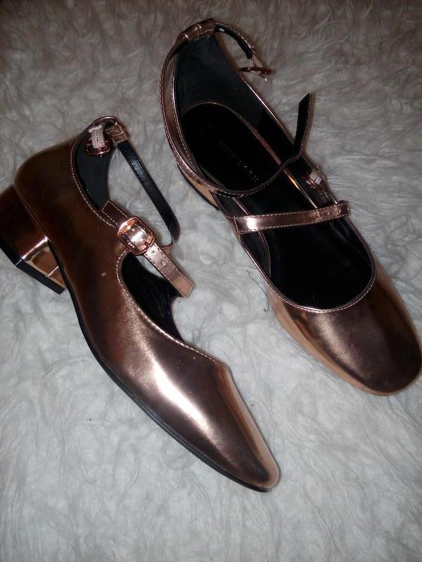 8e8715dbe Туфли женские блестящие туфли miu miu туфли на толстом каблуке New ...