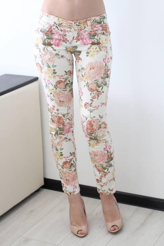 Неймовірно ніжні літні штани в квітковий принт1 ... 2ea0b35876dcc
