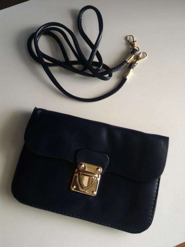 ea3e69c6212e Небольшой клатч, сумочка-кошелек, темно-синяя распродажа, цена - 65 ...