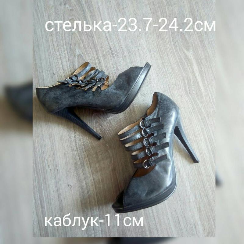 Супер стильні босоніжки туфлі з відкритим носком1 ... ef9c6b62bd4eb