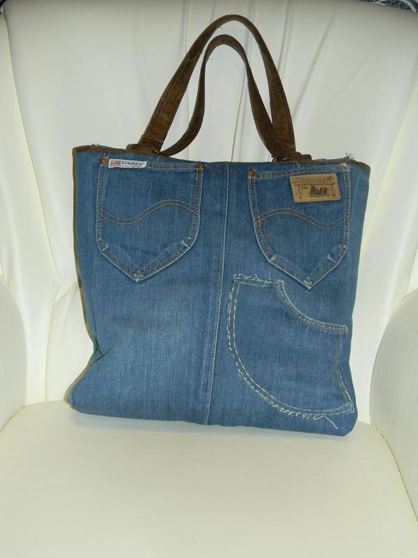 42d0c446 Джинсовая сумка ручной работы в стиле пэчворк, цена - 450 грн ...