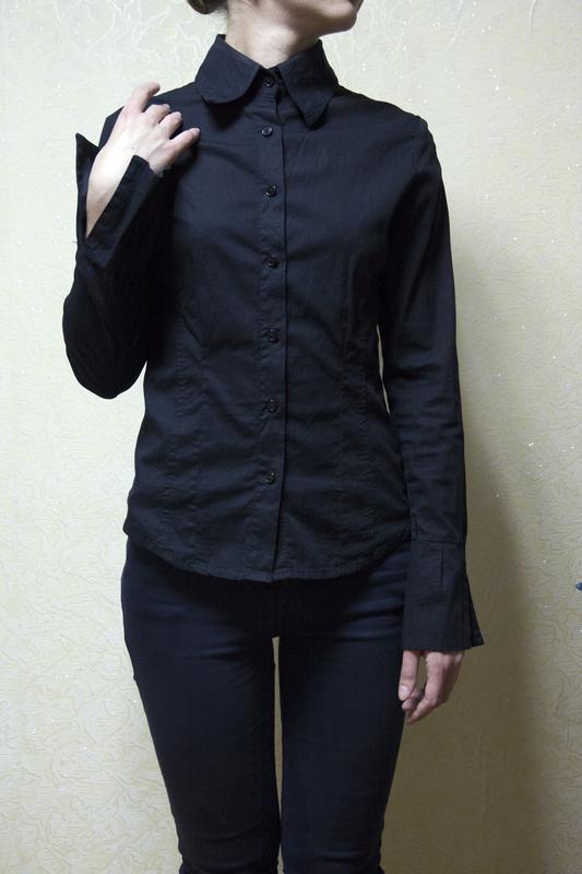 c06870c3905 Черная рубашка vila clothes Vila Clothes