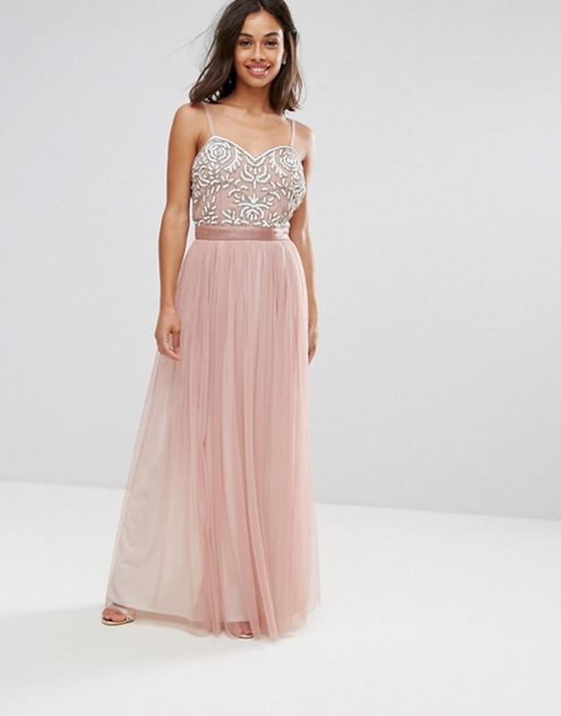 Платье asos с вышитым топом maya  asos,р-р 10 ASOS, цена - 650 грн, #23215754, купить по доступной цене | Украина - Шафа