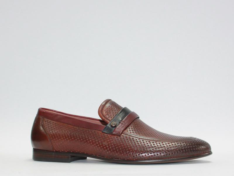 25a148e45 Мужские летние перфорированные туфли respect натуральная кожа 39-45р1 фото  ...