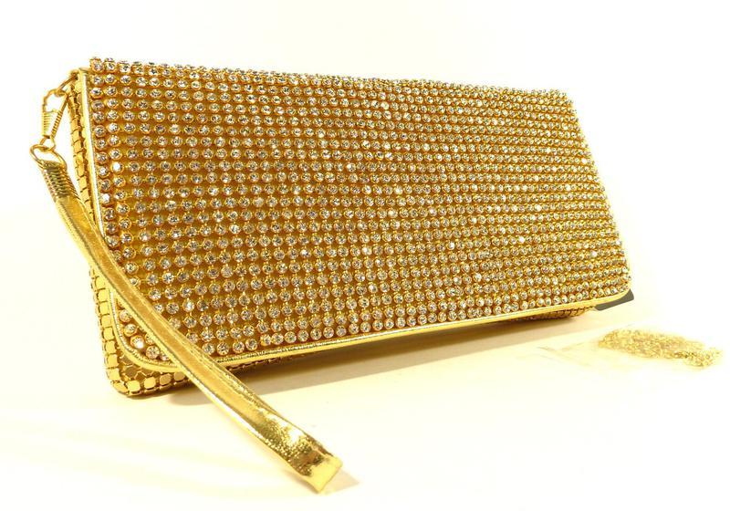 ee62375e87a6 Клатч из камней женский выпускной вечерний сумка малая золото rose heart  32111 ...