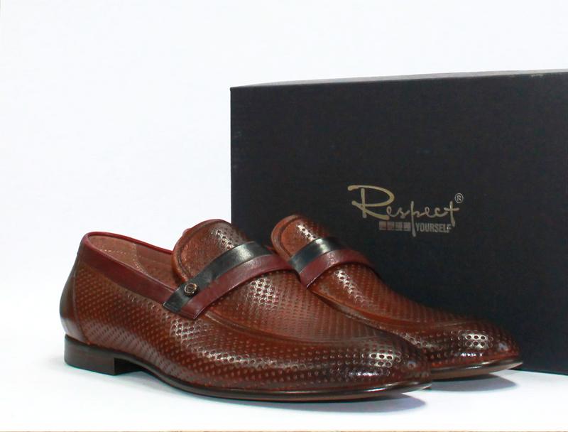508ad34532a6 Respect. мужские перфорированные туфли натуральная кожа 39-45р, цена ...