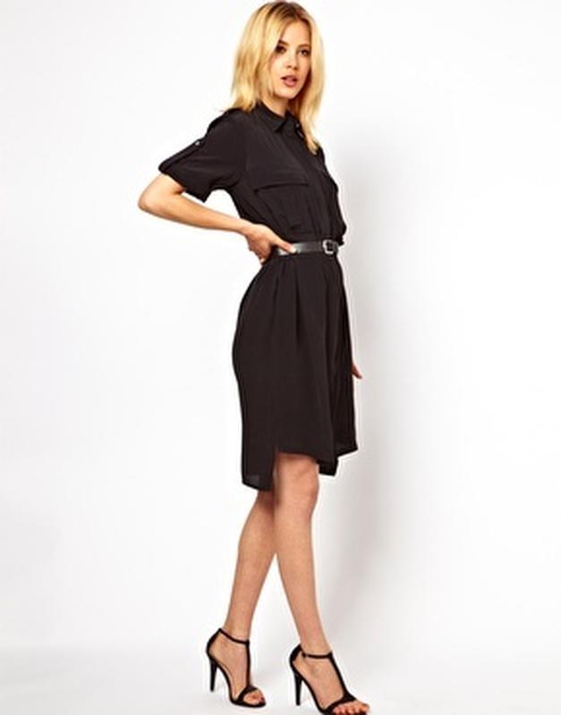 7be59d1943b Шифоновое платье - рубашка цвета марсала1 фото ...