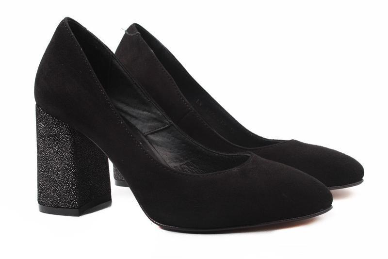 f89d40cc6 Туфли женские стильные nivelle натуральный замш, цвет черный Nivelle ...