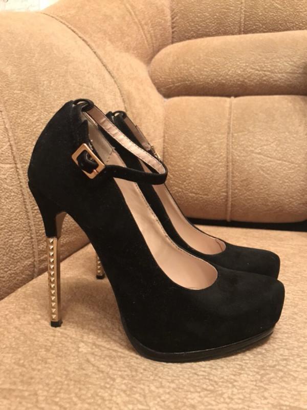 Стильные замшевые туфли на каблуке centro1 ... 276c7fca2ff9d