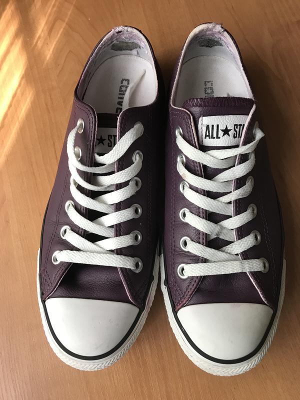 Стильные кожаные кеды converse all star оригинал 39 размер Converse ... 626b42a39b15c