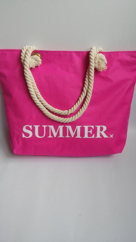 Пляжная сумка summer с канатными ручками. 8 цветов, цена - 230 грн ... a0f7716c98a