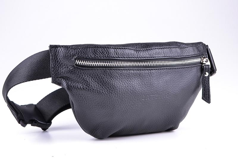 e56f92095d90 Кожаная поясная сумка gattini бананка сумка на груди через плечо1 фото ...
