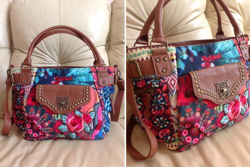b6112e8ce97e Vip стильная большая сумка – дом моды desigual – испания - 799 грн1 ...