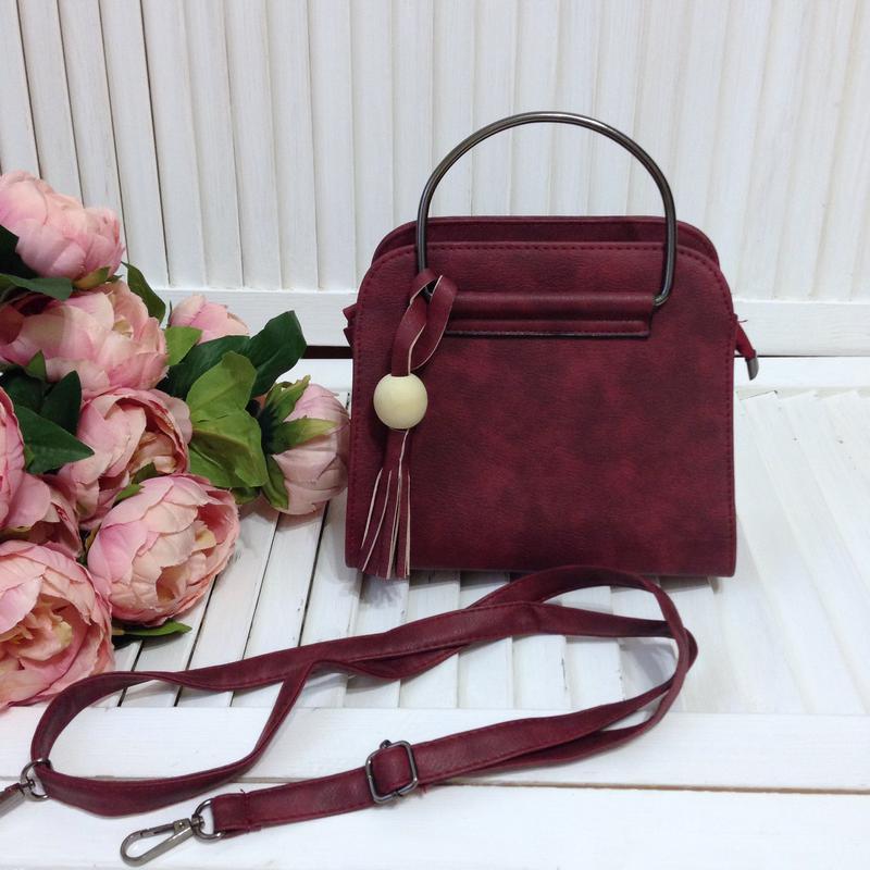 6f345155e546 Сумка сумочка бордового цвета, цена - 230 грн, #12779166, купить по ...