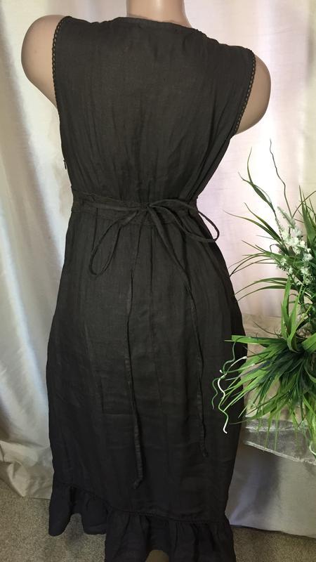 c714381f1ac556e ... Италия / льняное платье из натурального льна 100% flex лен ( мягкий)2  фото ...