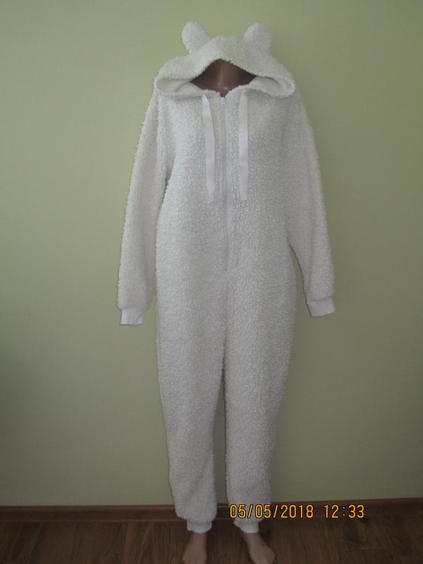 Пушистый слип-пижама .человечек c622cc3cc6be2