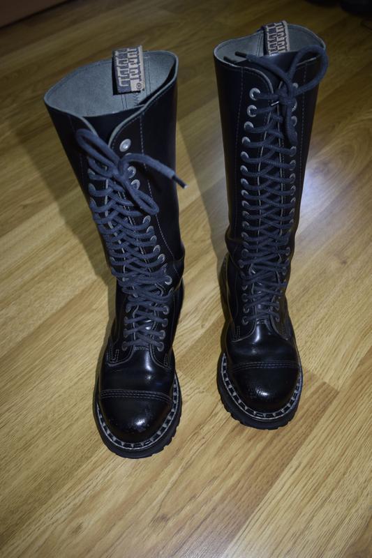 Гади steel високі шкіряні чоботи кожанние сапоги1 ... fd0ac34502e46