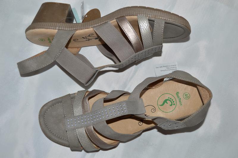 Босоножки сандали кожа footflexx размер 40 0a14008e1c4a3