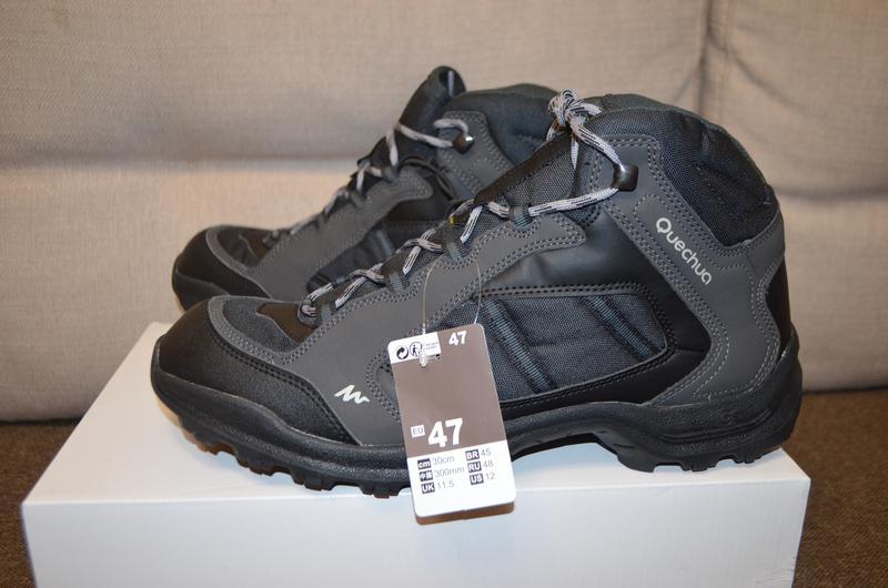 d2702916f472 Качественные ботинки кроссовки quechua 47 размер - 30 см стелька1 ...