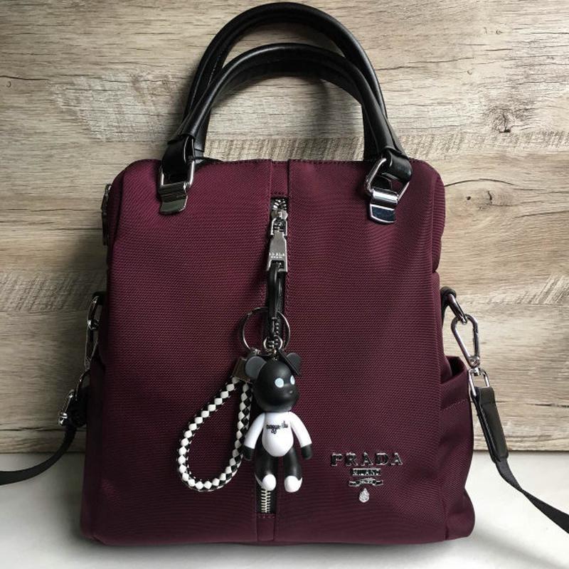 8a9071d6425f Сумка - рюкзак из плащевки городской текстильный спортивный тканевый из  ткани1 фото ...