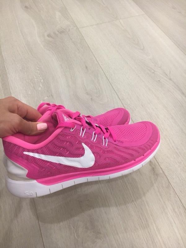 0bdf7ce4 Розовые беговые кроссовки nike free run Nike Free Run, цена - 400 ...
