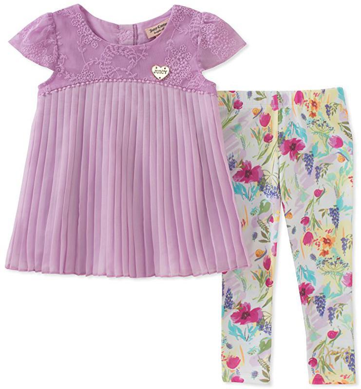 Костюм 2-ка платье туника и- лосины леггинсы на девочку 18 месяцев juicy  couture1 ... 1913426502c
