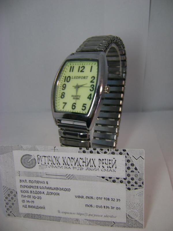 Мужские наручные часы ledfort светящийся циферблат на браслете-резинке1 ... bd1d8197a3bfa