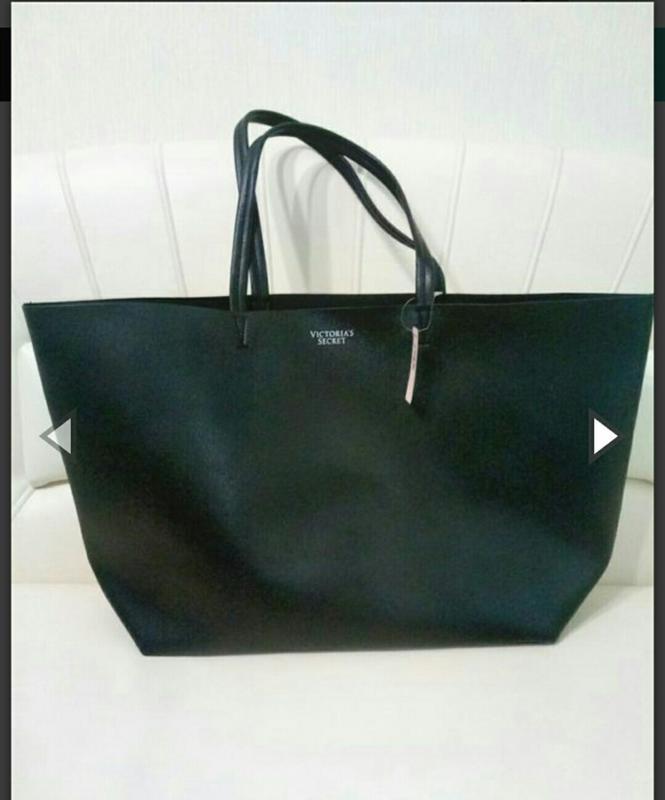 44d4f23727013 Сумка victoria's secret шопер большая кожаная сумка Victoria's ...