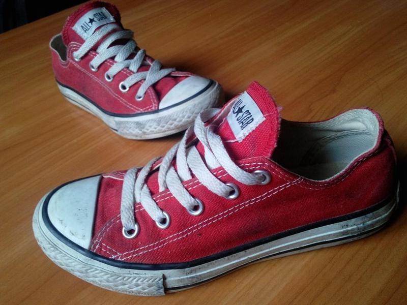 Детские красные кеды converse, размер 31,5, длина по стельке 19 см1 ... 3309f1bc9d2
