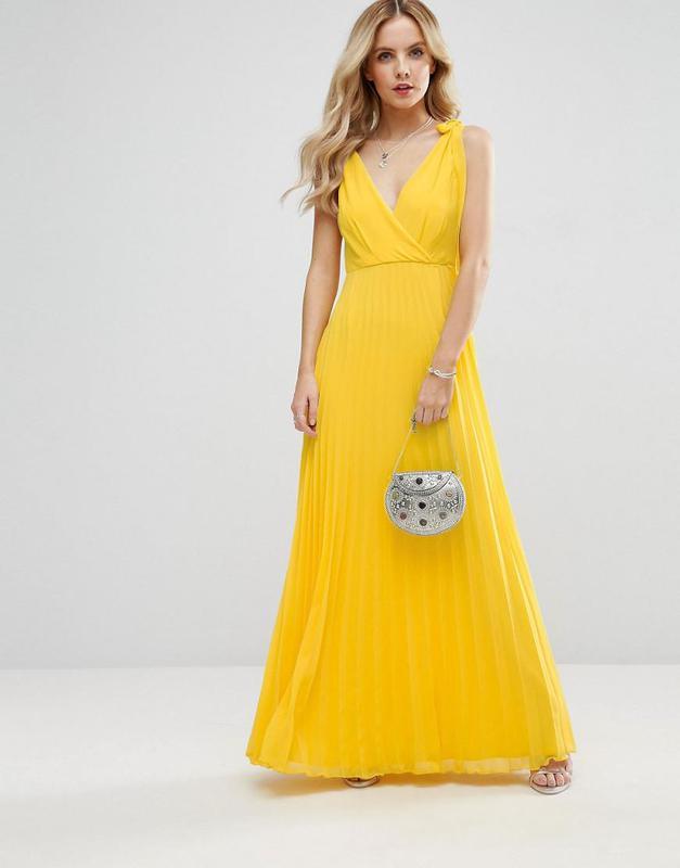 d542dd950a9 Желтое воздушное платье в пол1 фото ...