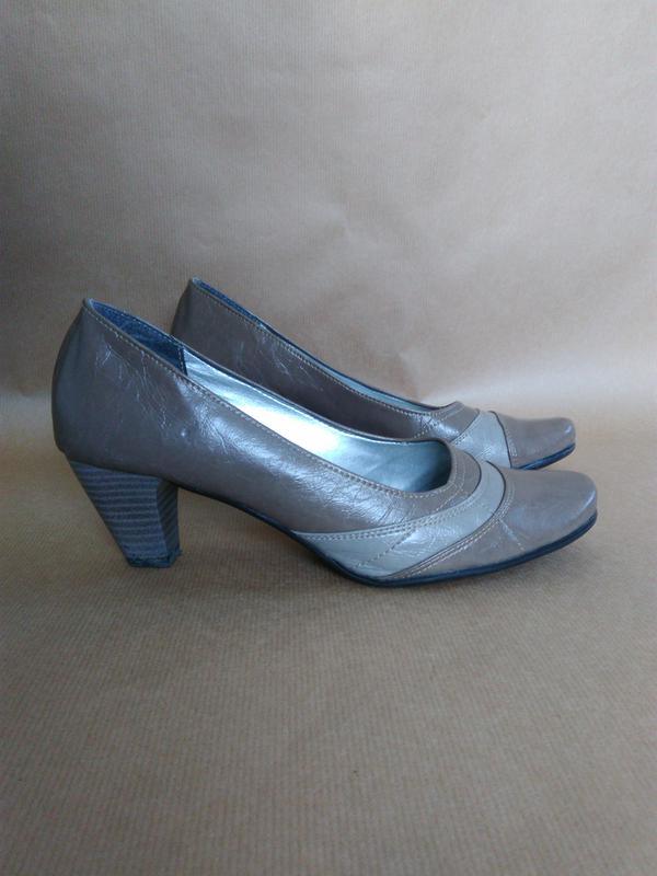 Бежеві туфлі на низькому каблуку1 ... 22c8e04483c52