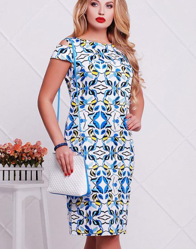 81b15d0545a Платье летнее абстракция светло-синее solh ASOS