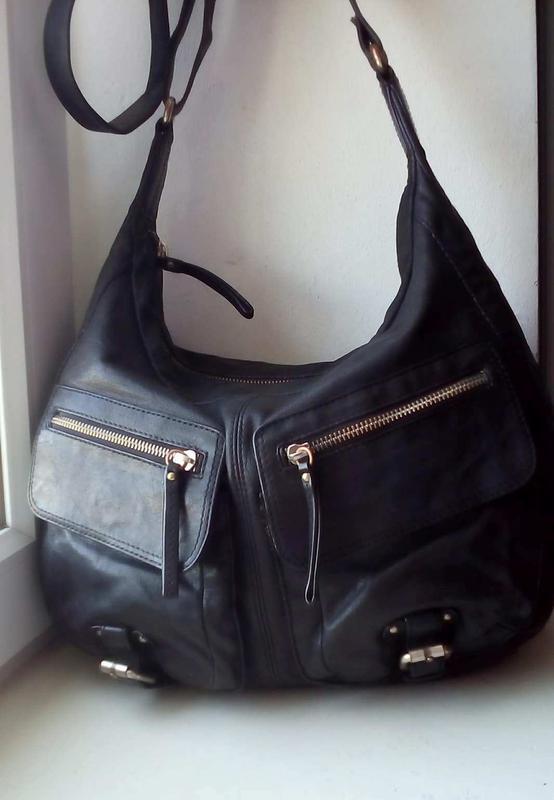 5255c8fb6491 Кожаная сумка с длинным ремнем banana republic Banana Republic, цена ...