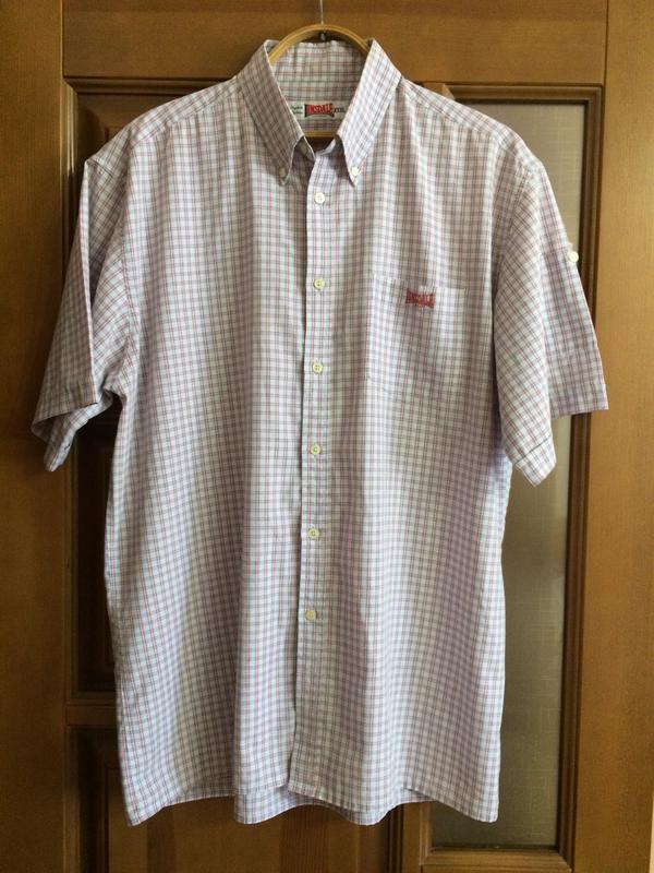 07626f48eb7 Мужская рубашка с коротким рукавом