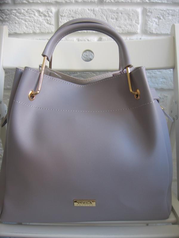 a90d5a690ef8 Стильная новая сумка из экокожи. цвет-лаванда, цена - 550 грн ...