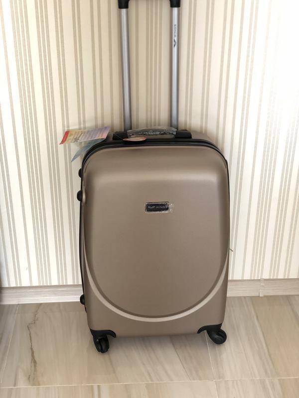 7a4d671cc218 Дешевле только у нас средний чемодан бренд wings валіза сумка на колесах,  100% оригинал
