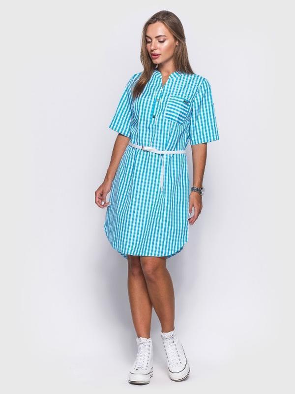 3fefa0ae616 Платье рубашка с удлиненной спинкой1 ...