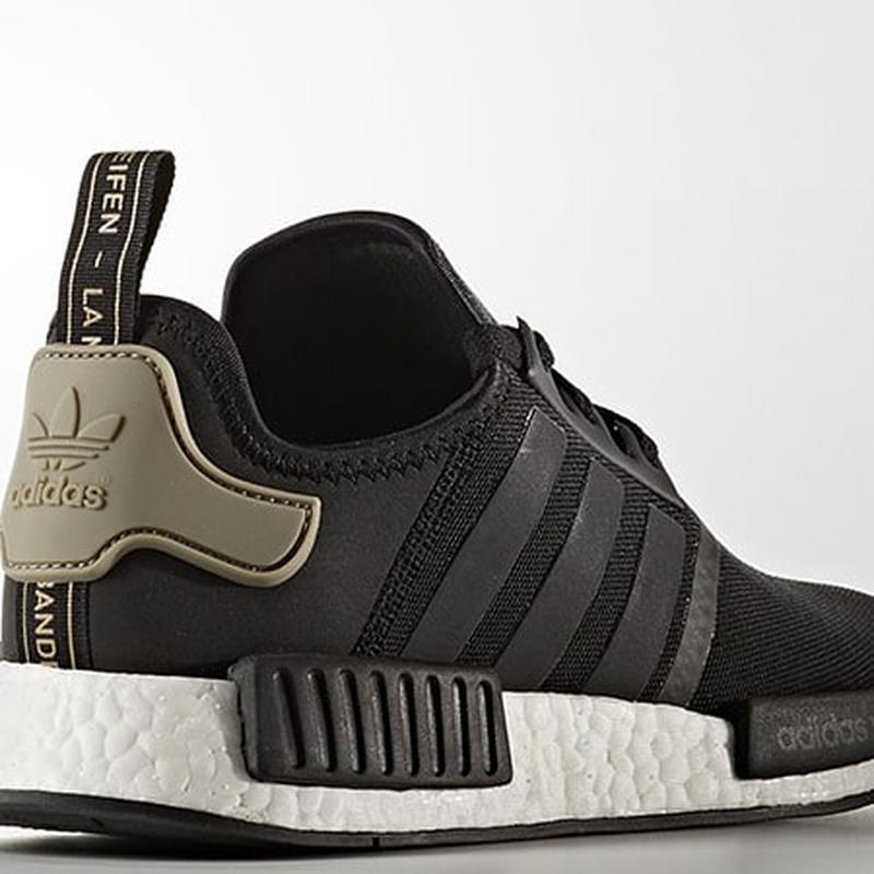 337aae69dc6 Adidas original nmd r1 runner core black cargo trail ba7251 Adidas ...