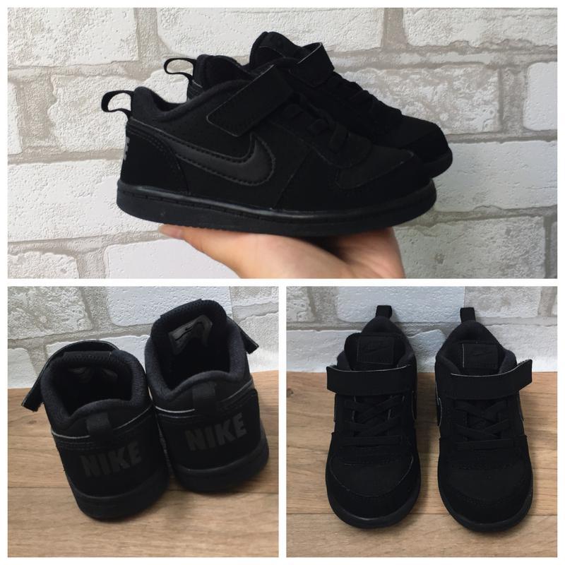 099d863f Чёрные найк оригинал на липучках Nike, цена - 380 грн, #13206906 ...