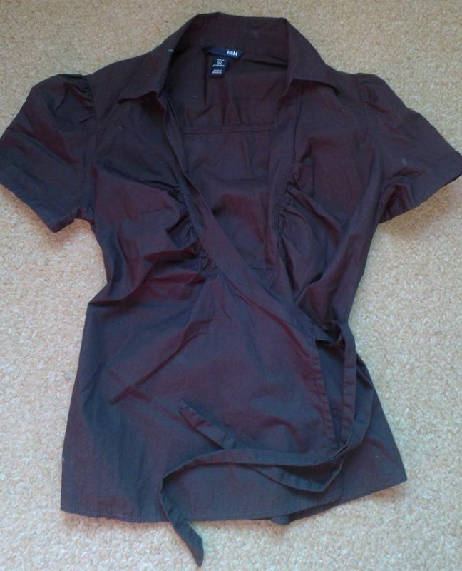 f36ba1e0ca3 Красивая блуза с запахом h m1 ...