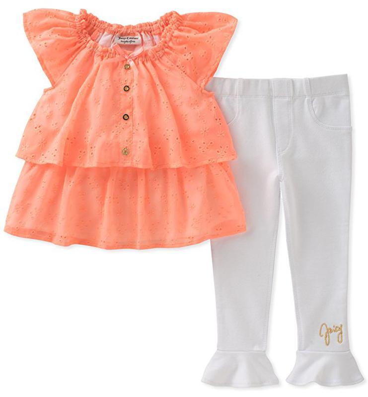 Костюм 2ка платье туника и- лосины джеггинсы juicy couture на девочку 3-6  месяцев1 ... 9fbc5c8a522