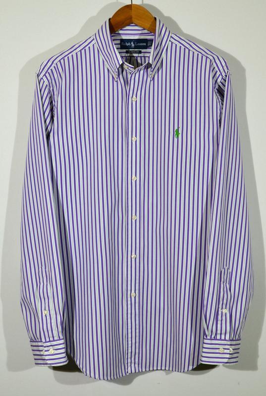 e7e690ea738 Мужская рубашка в полоску polo ralph lauren shirt Ralph Lauren