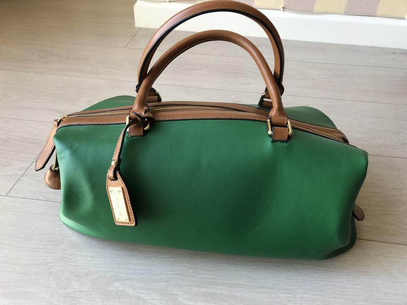 223ce8b9b82d Сумка mascotte зеленая из кожзама Mascotte, цена - 350 грн ...