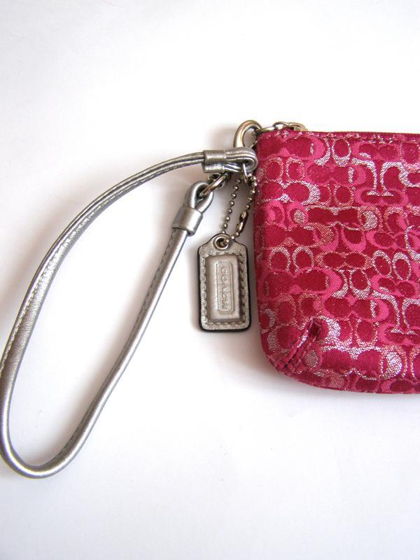 Vip! coach – стильная ключница (клатч) – текстиль + кожа – новая (2 ... 88c654b752b19